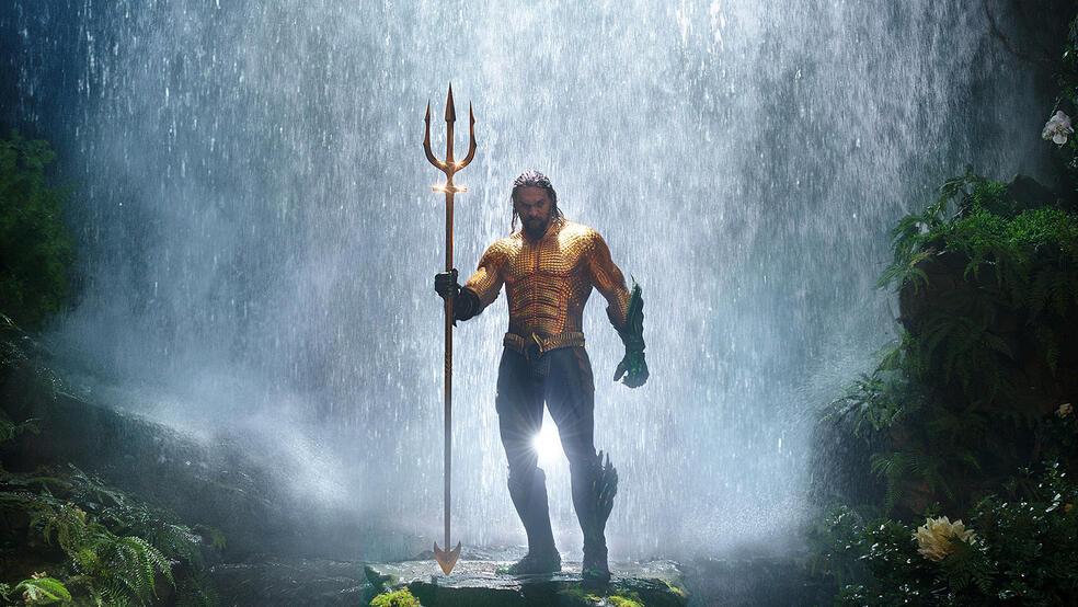 Aquaman mit Jason Momoa