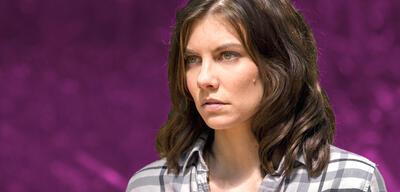 Lauren Cohan in The Walking Dead