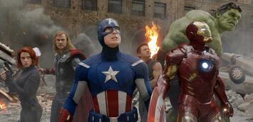 Bild zu:  Die Avengers fragen sich, wer wohl in Rente gehen muss