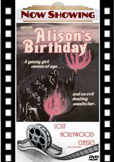 Alison's Birthday - Poster