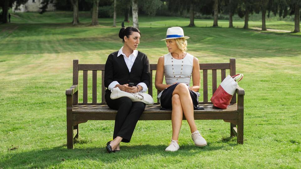Madame mit Toni Collette und Rossy de Palma