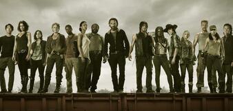 Die Besetzung von The Walking Dead