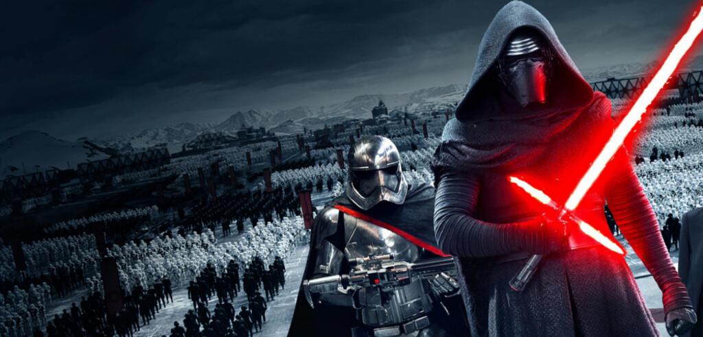 Adam Driver als Kylo Ren in Star Wars 7: Das Erwachen der Macht