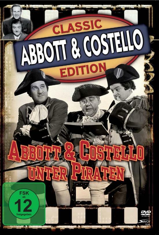 Abbott und Costello als Piraten wider Willen