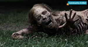 Der Zombie in The Walking Dead
