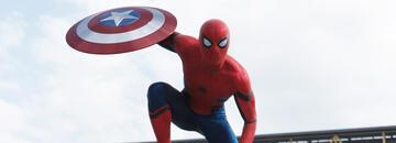 Tom Holland als Spider-Man in The First Avenger: Civil War
