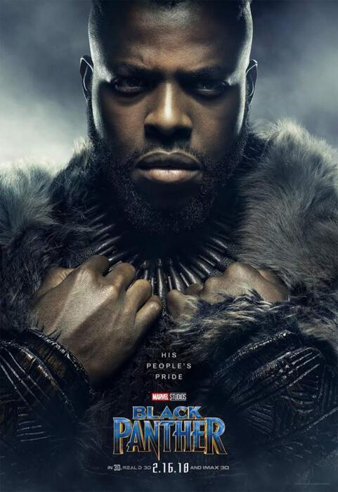 Black Panther mit Winston Duke