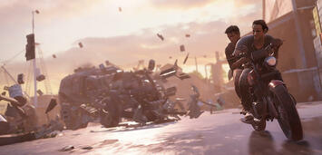 Bild zu:  Uncharted 4 ist wirklich spektakulär.