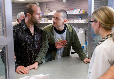 Crank mit Jason Statham und Chester Bennington