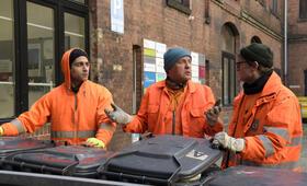 Die Drei von der Müllabfuhr - Dörte muss weg mit Uwe Ochsenknecht, Daniel Rodic, Jörn Hentschel und Rainer Strecker - Bild 7