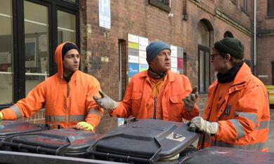 Die Drei von der Müllabfuhr - Dörte muss weg mit Uwe Ochsenknecht, Daniel Rodic, Jörn Hentschel und Rainer Strecker - Bild 11