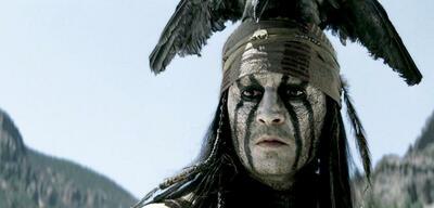 Johnny Depp im Riesen-Flop Lone Ranger