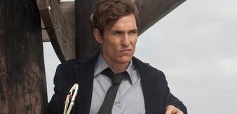 Matthew McConaughey in True Detective