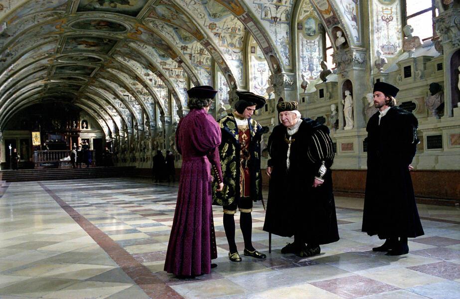 Luther mit Peter Ustinov, Benjamin Sadler, Torben Liebrecht und Jonathan Firth