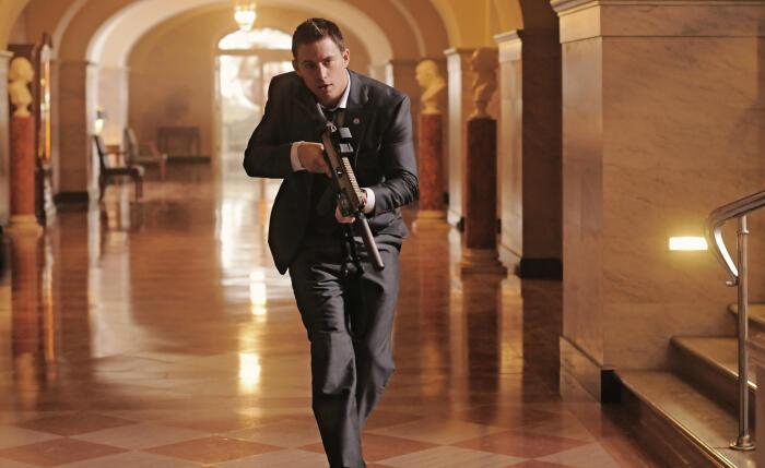 White House Down mit Channing Tatum