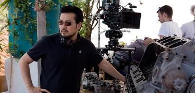 Justin Lin am Set von Fast & Furious 6