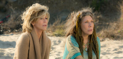 Jane Fonda und Lily Tomlin in Grace and Frankie