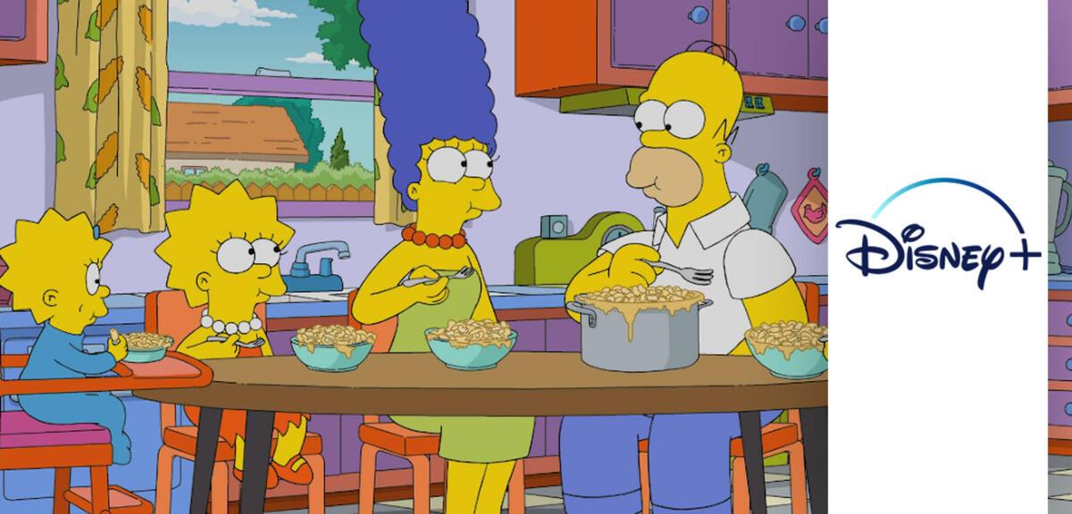 Disney+ hat das peinliche Simpsons-Problem gelöst