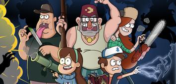 Bild zu:  Die Charaktere aus Gravity Falls