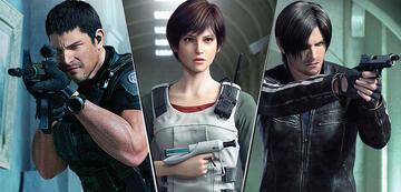 Chris, Rebecca und Leon
