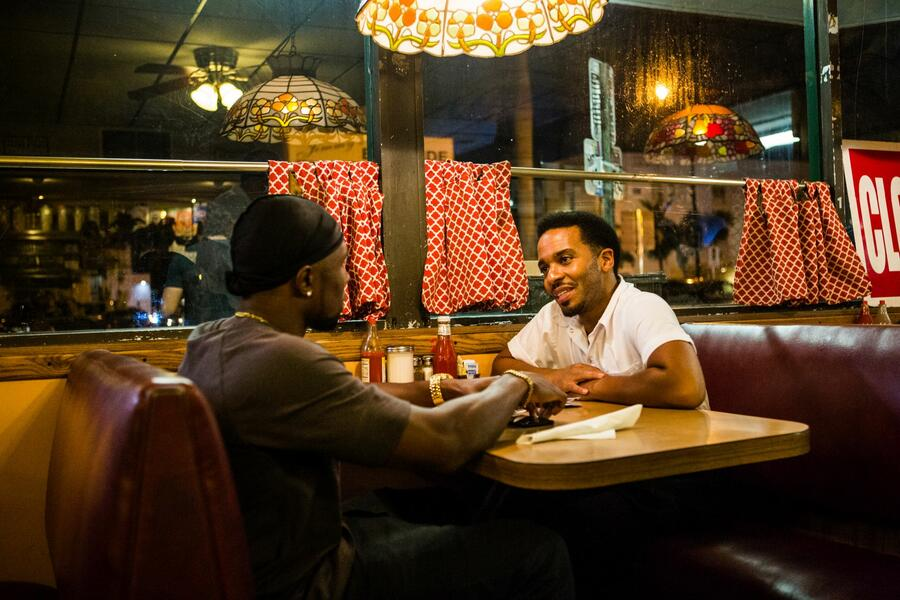 Moonlight mit André Holland und Trevante Rhodes