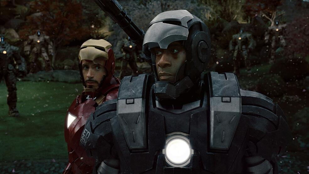 Iron Man 2 mit Robert Downey Jr. und Don Cheadle