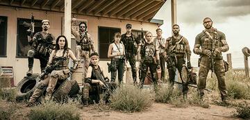 Der Cast von Army of the Dead
