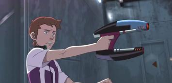 Bild zu:  Erste Schießversuche: Star-Lord