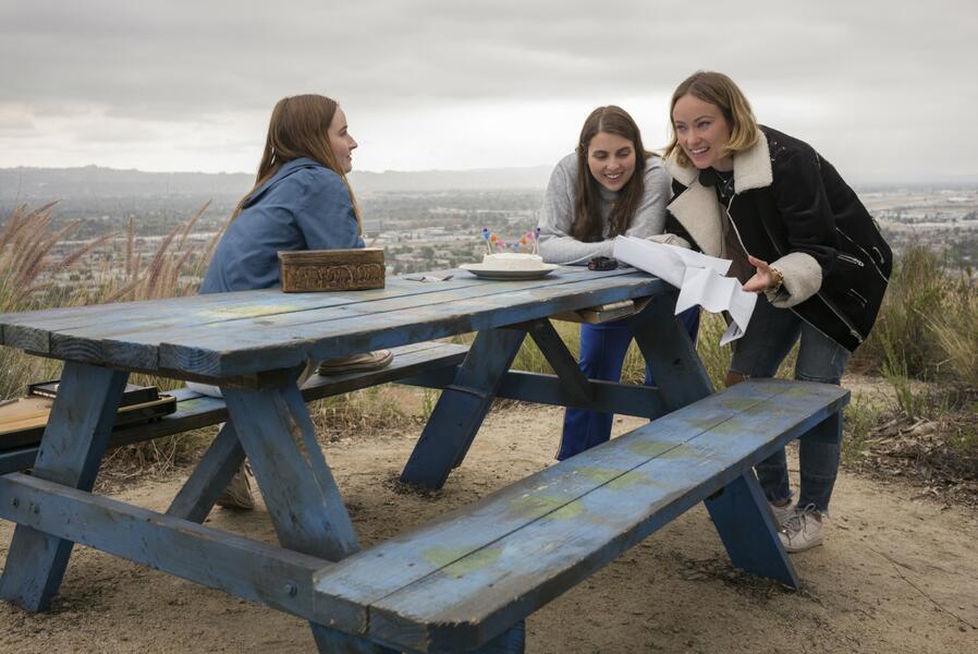 Booksmart mit Olivia Wilde, Kaitlyn Dever und Beanie Feldstein