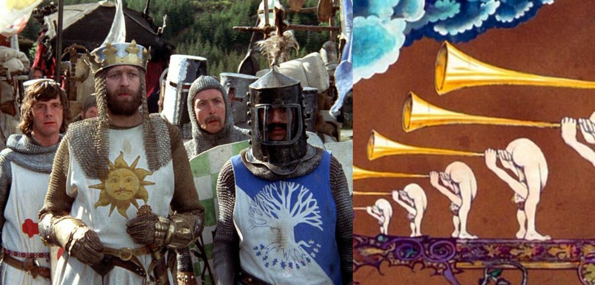 Seht bisher unbekannte Animationen aus Die Ritter der Kokosnuß