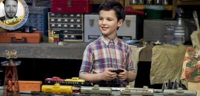 Iain Armitage als kleiner Sheldon Cooper