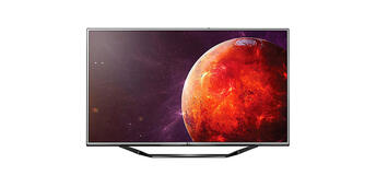 Bild zu:  Der LG 4K-Fernseher überzeugt durch sein 65 Zoll Display.