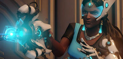 Symmetra in Overwatch