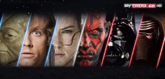 Alle sieben Star Wars-Filme ab jetzt auf Sky