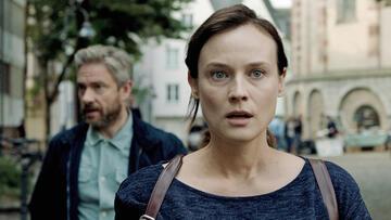 Martin Freeman und Diane Kruger in The Operative