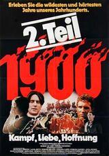 1900 - 2. Teil: Kampf, Liebe, Hoffnung - Poster