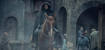 Geralt mit seinem Pferd Plötze