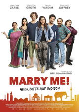 Marry Me! - Aber bitte auf Indisch! - Poster