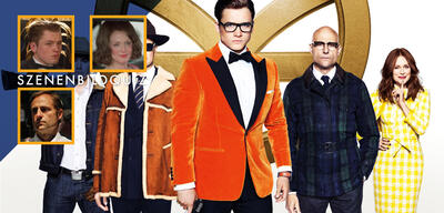 Erkennt alle Filme der Stars aus Kingsman: The Golden Circle