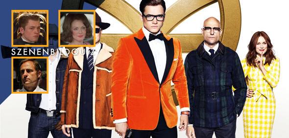 Erkennt alle Filme der Stars aus Kingsman: The Golden Circle