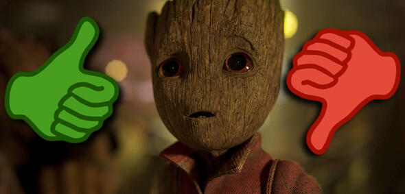 Guardians of the Galaxy Vol. 2 mit Baby Groot