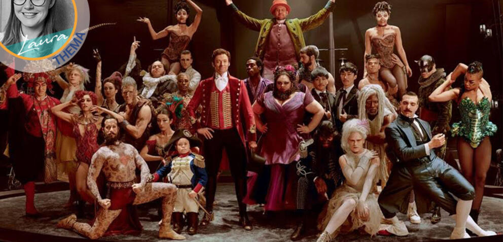 Hugh Jackman spielt in Greatest Showman den Zirkusdirektor