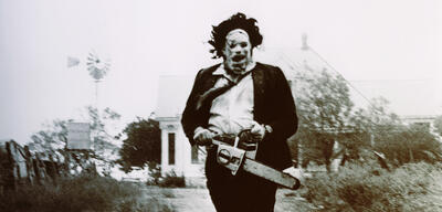 Das Original: Gunnar Hansen als Leatherface in Blutgericht in Texas