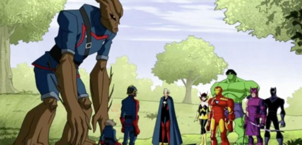 Die Avengers treffen die Guardians in der Zeichentrickserie The Avengers