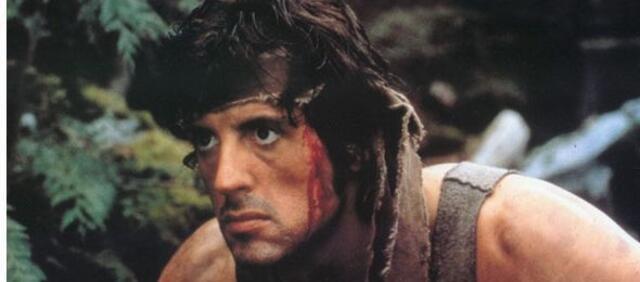 Sylvester Stallone als knallharter Veteran, John Rambo