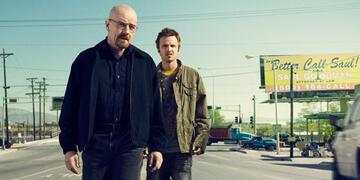 Walt und Jesse in Breaking Bad