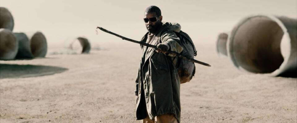 The Book of Eli mit Denzel Washington