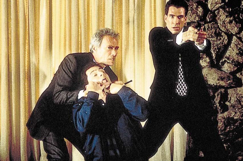 In the Line of Fire - Die zweite Chance mit Clint Eastwood und Dylan McDermott