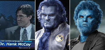 X-Men: Beast alt und jung