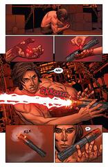 Ben Solo verbrennt sich an seinem Lichtschwert